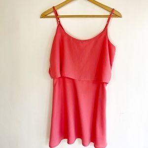 ABERCROMBIE & FITCH Womens Size Small Dress Orange